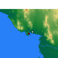 Nearby Forecast Locations - Heroica Guaymas - Mapa