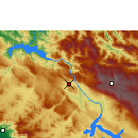 Nearby Forecast Locations - Tuxtla Gutiérrez - Mapa