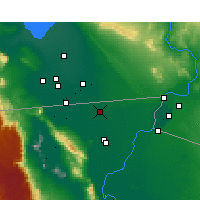 Nearby Forecast Locations - Mexicali - Mapa